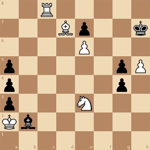 Поставьте черным мат в 4 хода