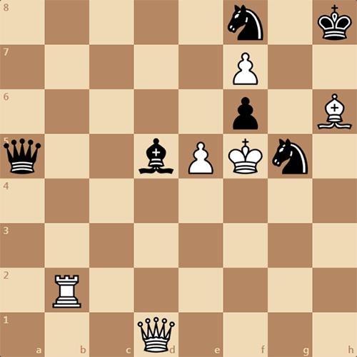 Решите этюд по шахматам
