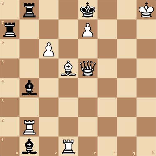 Задача из серии мат в 2 хода