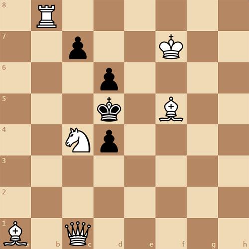 Задача по шахматам с утра, мат в 2 хода
