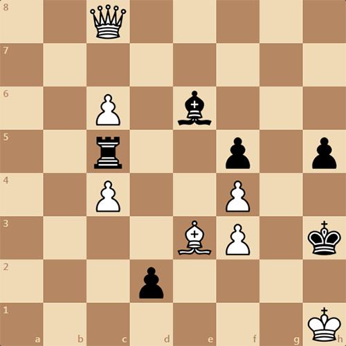 Шахматы, этюд на засыпку