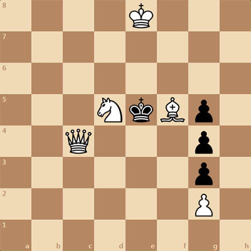 Найдите мат в 3 хода за белых
