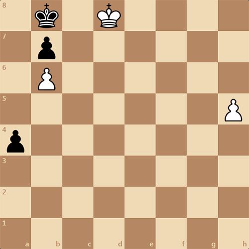 Этюд, ничья или победа ?