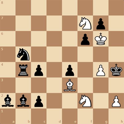 Мат в 4 хода, шахматная задача