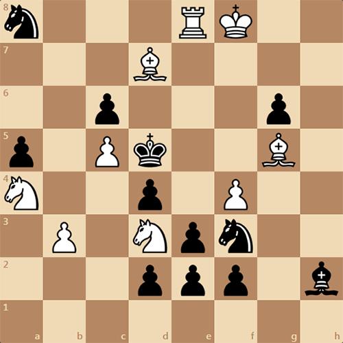 Интереснейший мат в 4 хода