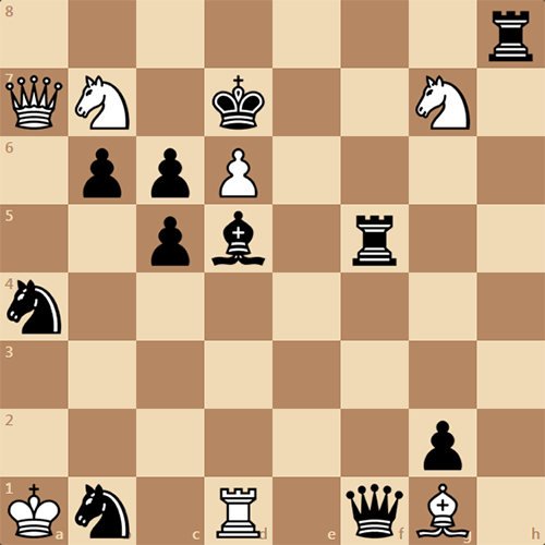 Мат в 3 хода, как решить эту задачу ?