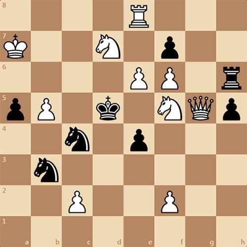 Найдите мат в 3 хода, интересная задача по шахматам