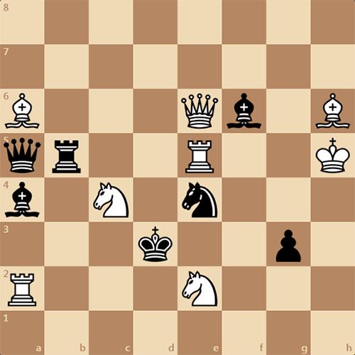 Задача по шахматам, решите мат в 2 хода