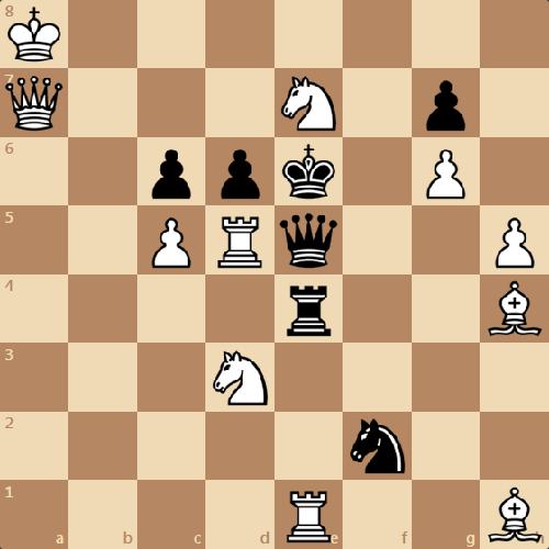 Двухходовка Гебельта, задача по шахматам