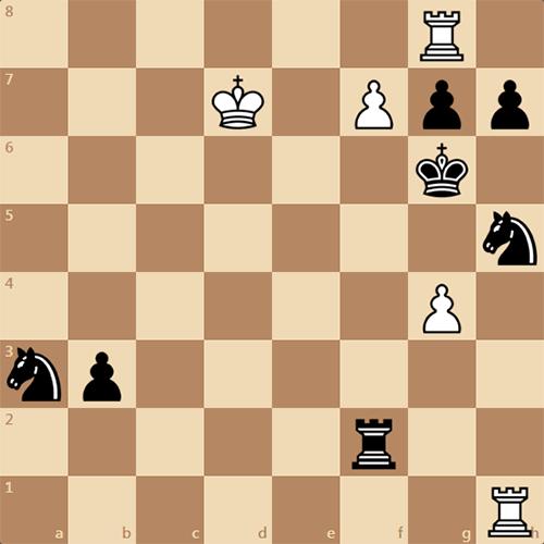 Шахматный этюд 1960 года