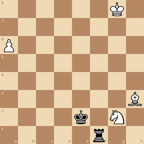 Эндшпиль, шахматный этюд