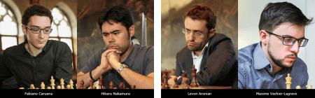 Каруана, Накамура, Аронян, Лаграв - участники 2018 London Chess Classic