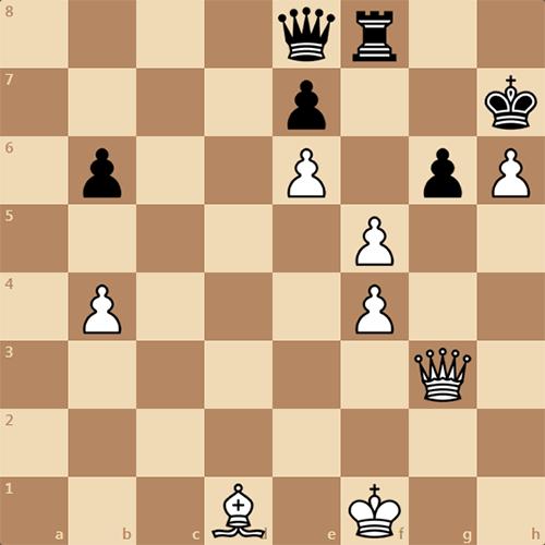 Самый естественный в мире шахматный этюд