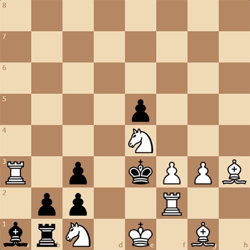 Обратный мат в 3 хода