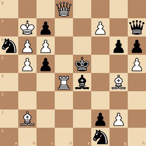 Задача от В. Кобеца, мат в 3 хода