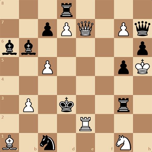 Задача 1907 года, мат в 2 хода