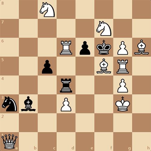 Поставьте мат за белых в 2 хода