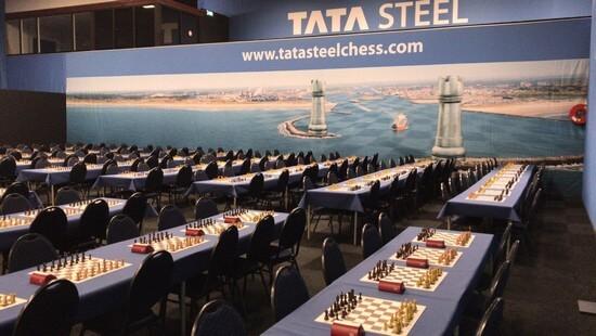 Игровой зал турнира B