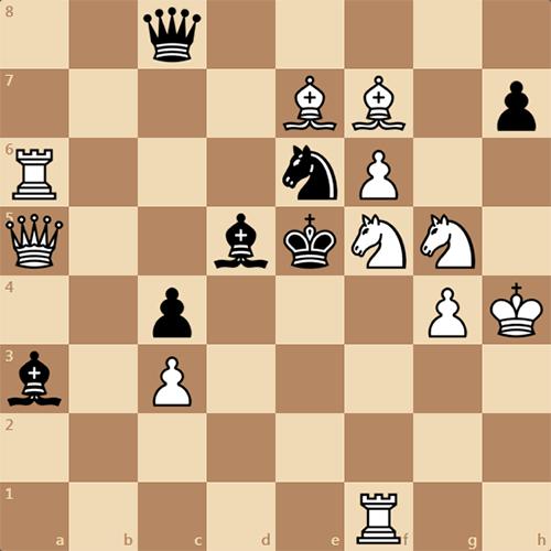 Задача по шахматам, найдите мат в 2 хода