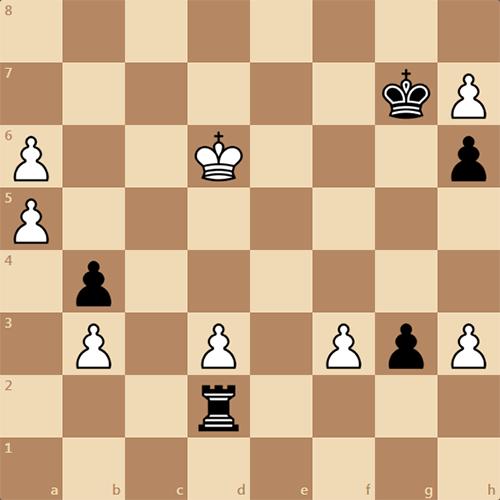 Шахматный этюд, выигрыш