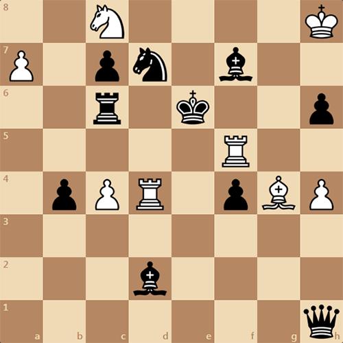 Великолепная шахматная задача - Мат в 3 хода