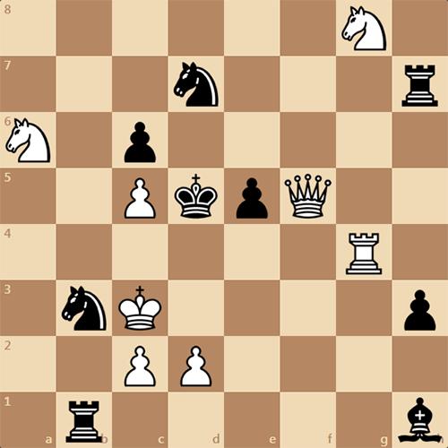 Интересный мат в 2 хода