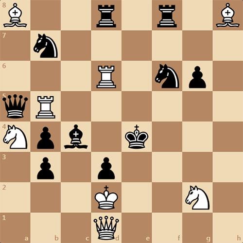 Увлекательная задача по шахматам, мат в 2 хода