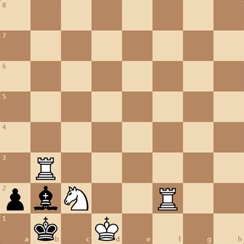 Красовитая шахматная задача. Мат в 3 хода