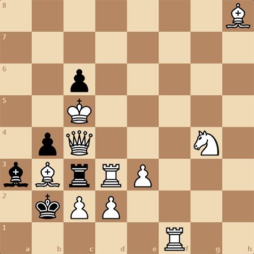 Самая простая задача на мат в 2 хода