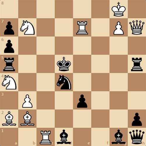 Решите задачу по шахматам, автор Г. Хиткот