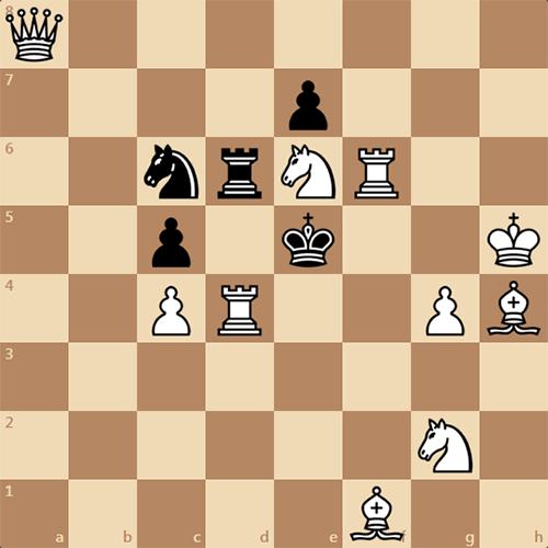 Задача по шахматам для новичков