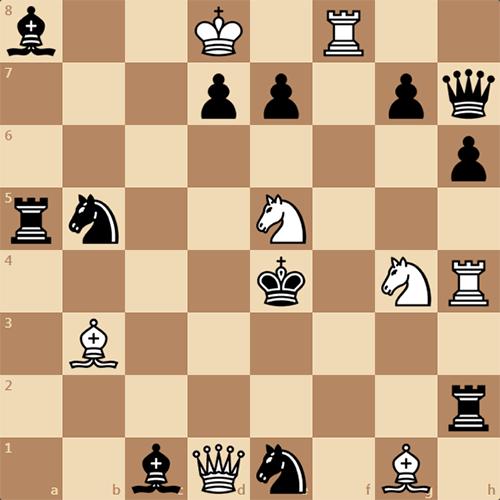 Задача по шахматам для разминки, разрядки и зарядки