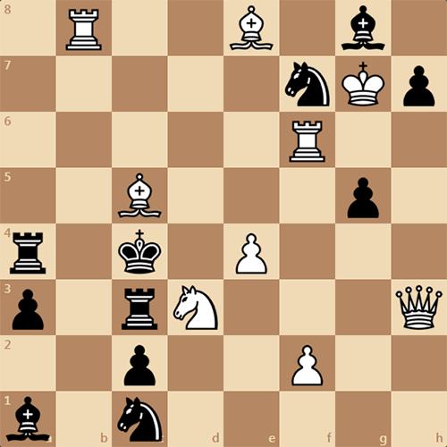 Любите решать шахматные задачи? Найдите мат в 2 хода!