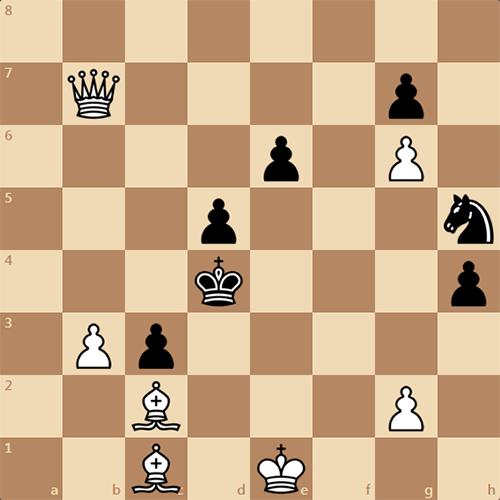 Решите задачу по шахматам, белые ставят мат в 3 хода
