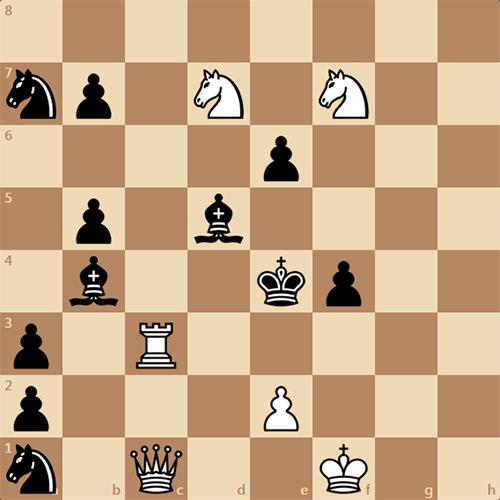 Задача для сильных шахматистов