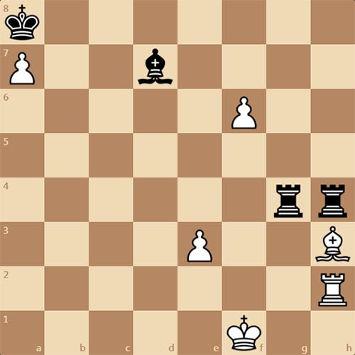 Шахматный этюд - безумие на доске