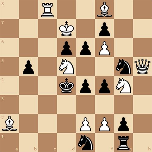 Мат в 3 хода, решите эту задачу по шахматам