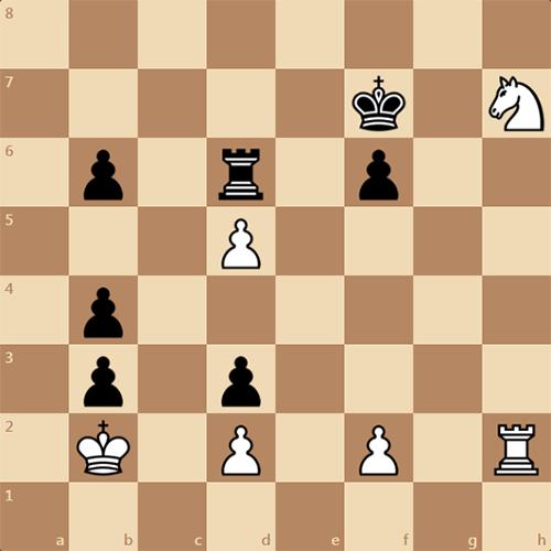 Неплохой шахматный этюд