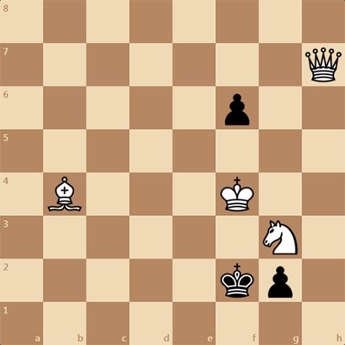 Интересный мат в 1 ход