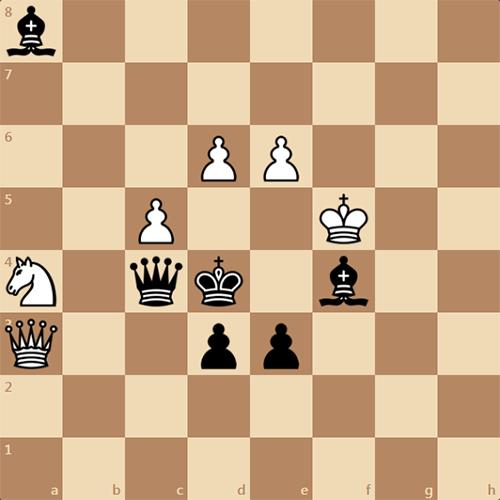 Полет Гагарина на шахматной доске