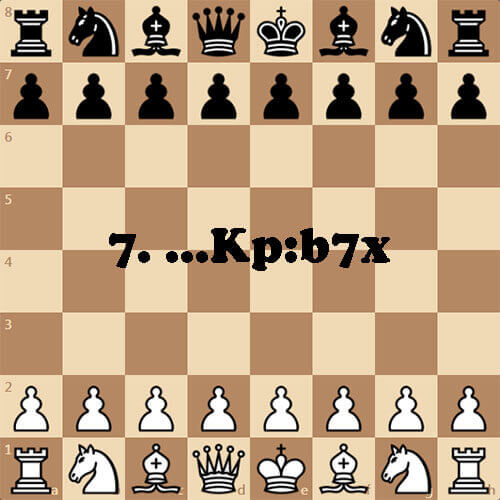 Шахматная головоломка, мат королем на b7