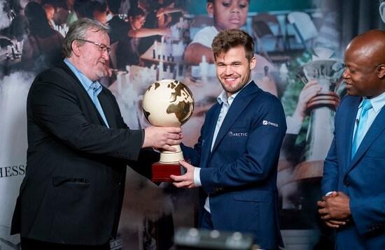 Магнус Карлсен - победитель турнира в Загребе