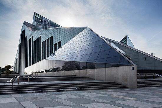 Национальная библиотека Латвии, здесь будут играть участники второго этапа серии Гран-При ФИДЕ 2019