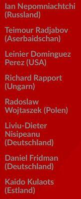 Список участников турнира в Дортмунде 2019