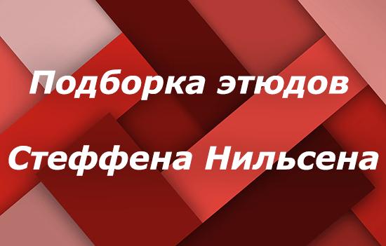 Подборка этюдов Стеффена Нильсена