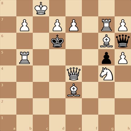 Задача А, Селиванова, 2000 год, обратный мат в 5 ходов