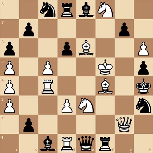 Необычная шахматная задача, колесо в колесе
