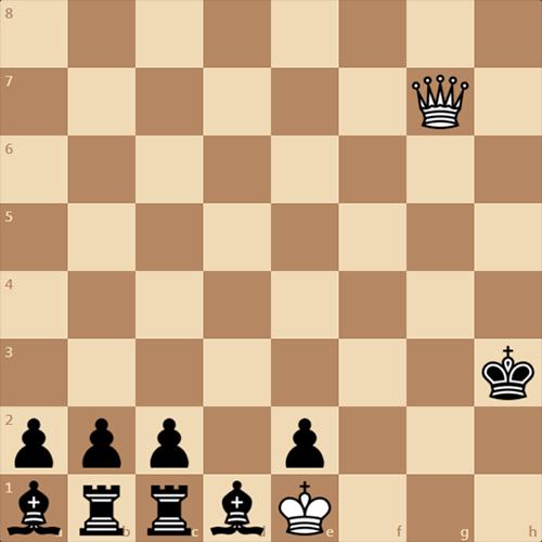 Красивый шахматный  этюд, не очень сложный