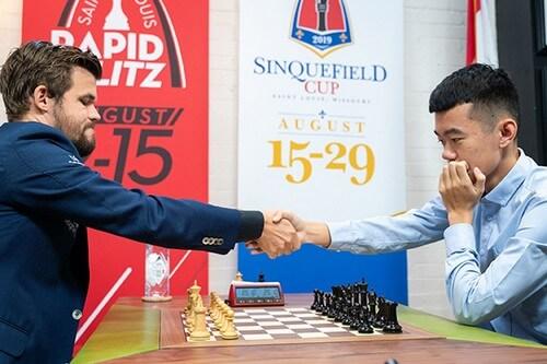 Дин Лижэнь и Карлсен, китаец победил