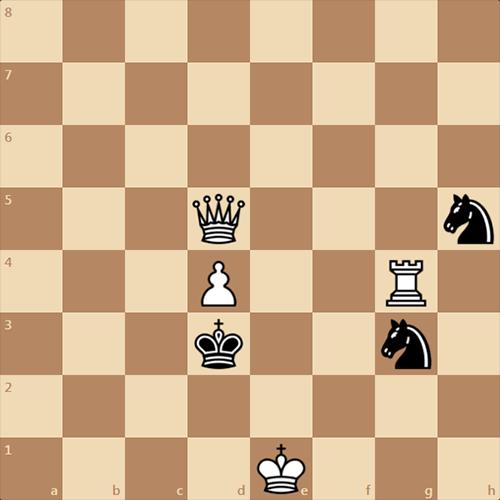 Попробуйте найти мат в 1 ход